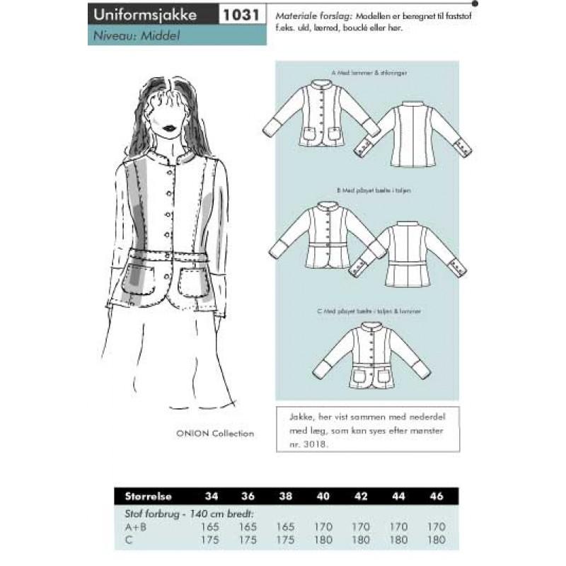 Onion 1031 -Uniformsjakke