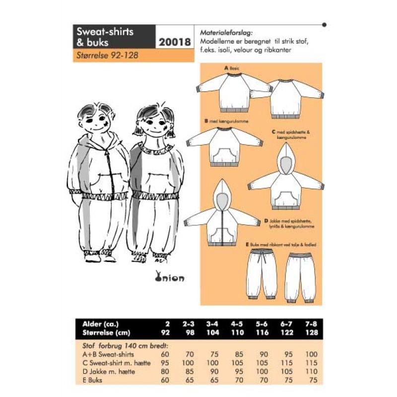 Onion 20018 -Sweat-shirt & buks