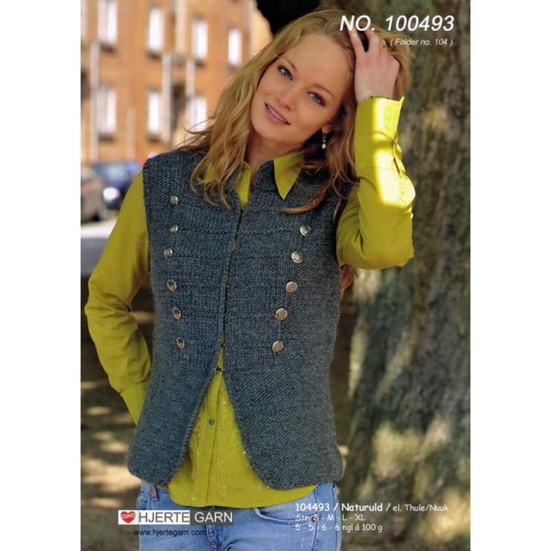 100493 Kort uniforms vest
