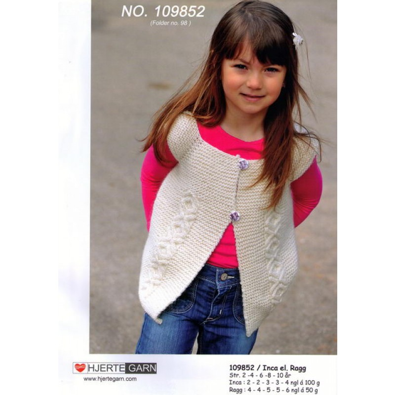 109852 Vest m/kys and kram snining-00