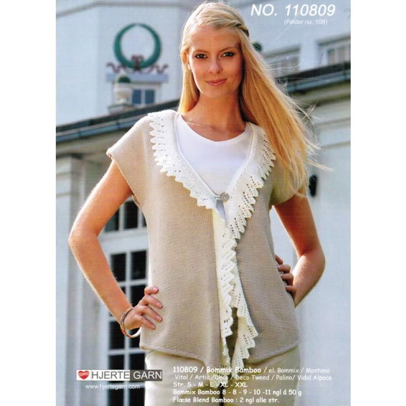 110809 Vest m/flæse-00