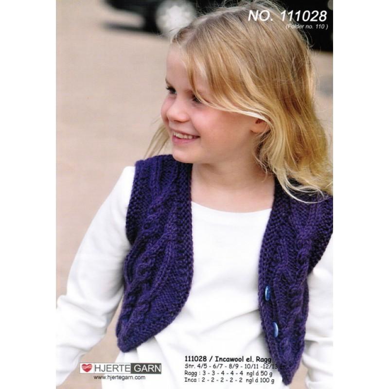 111028 Bolero-vest i Inca Wool-30
