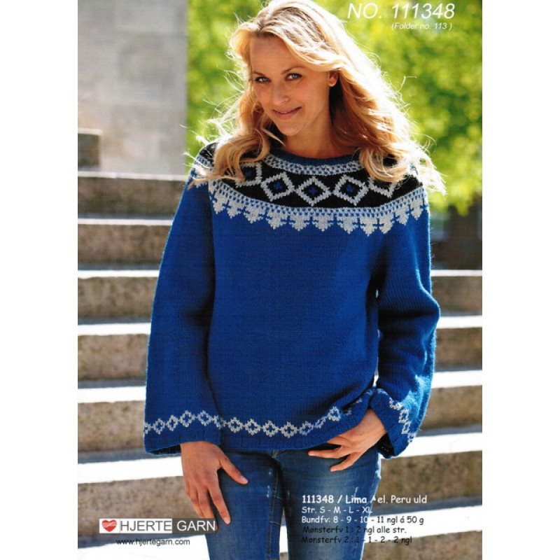111348 Sweater m/bærestykke-30