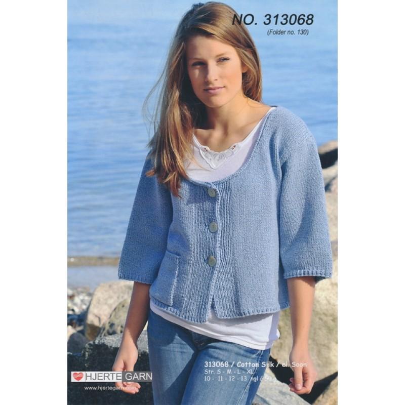 313068 Kort and bred jakke-35