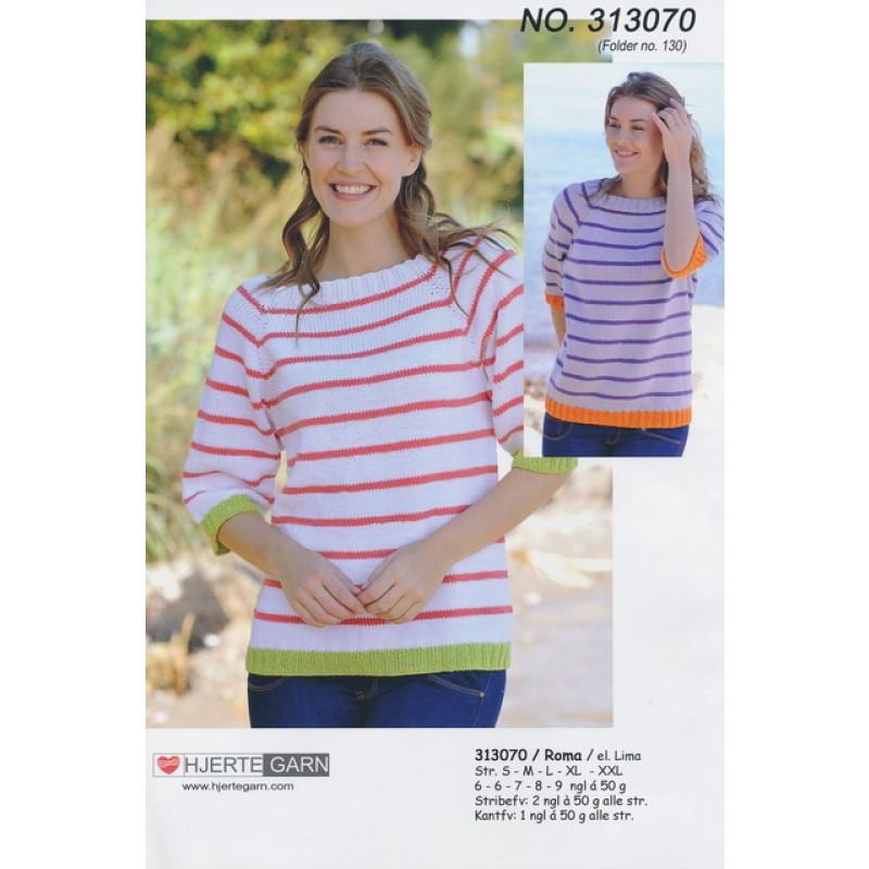 313070 Stribet sweater-00