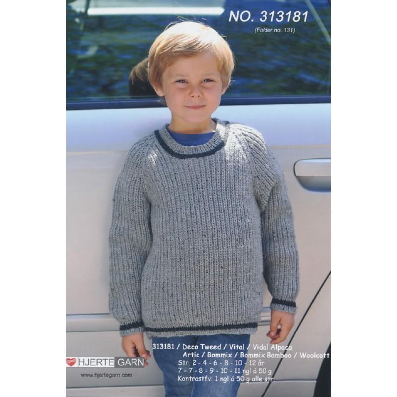 313181 Sweater i halvpatent-35