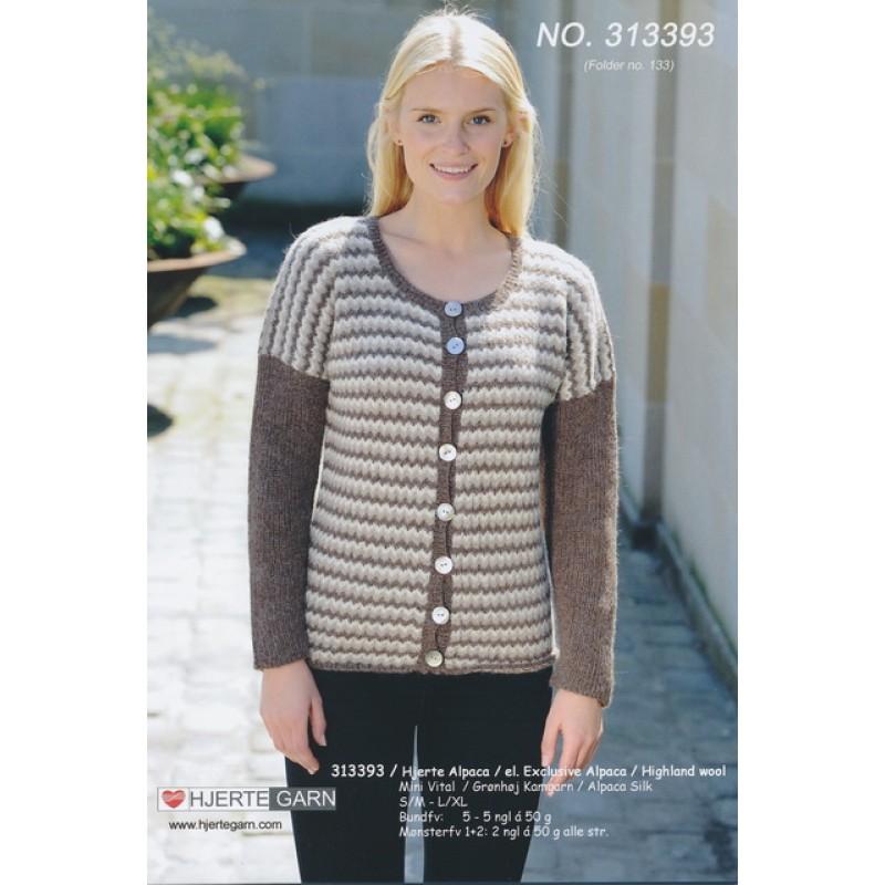 313393 Zig-zag stribet trøje-35
