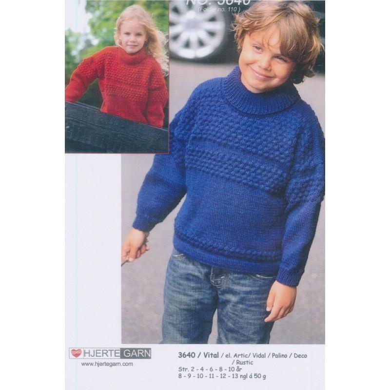 3640 Sømandssweater til børn-30