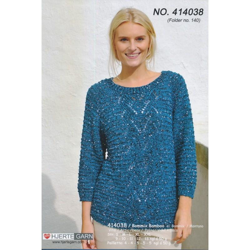 414038 Sweater m/palietter-35