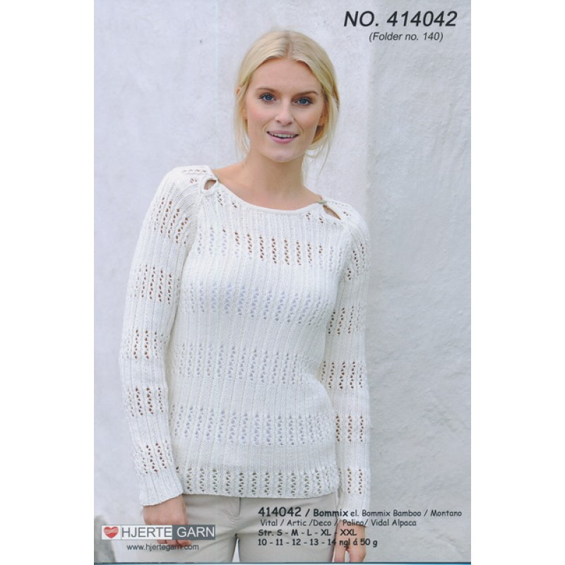 414042 Rib sweater
