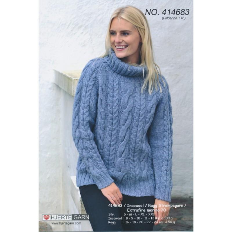 414683 Snoningssweater