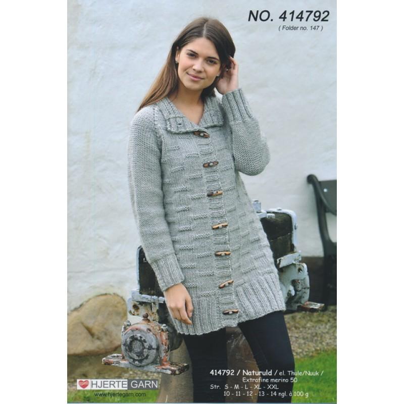 414792 Lang trøje m/strukturmønster-33