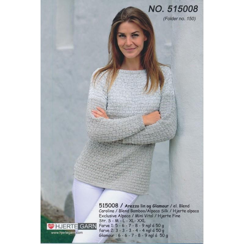 515008 Sweater m/sølv
