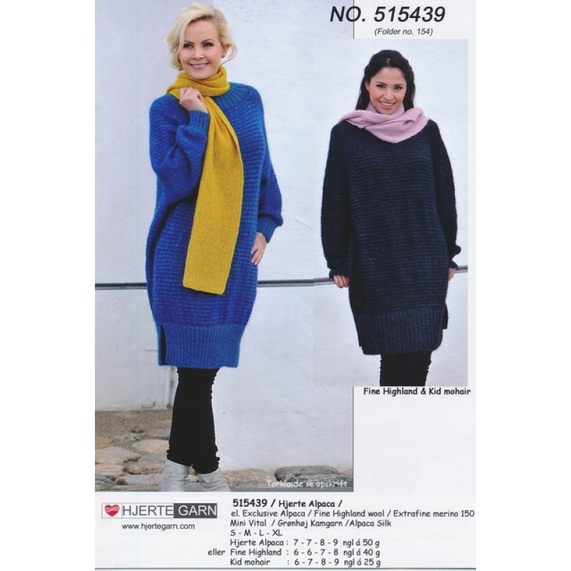 515439 Oversize tunika i uld and mohair-35