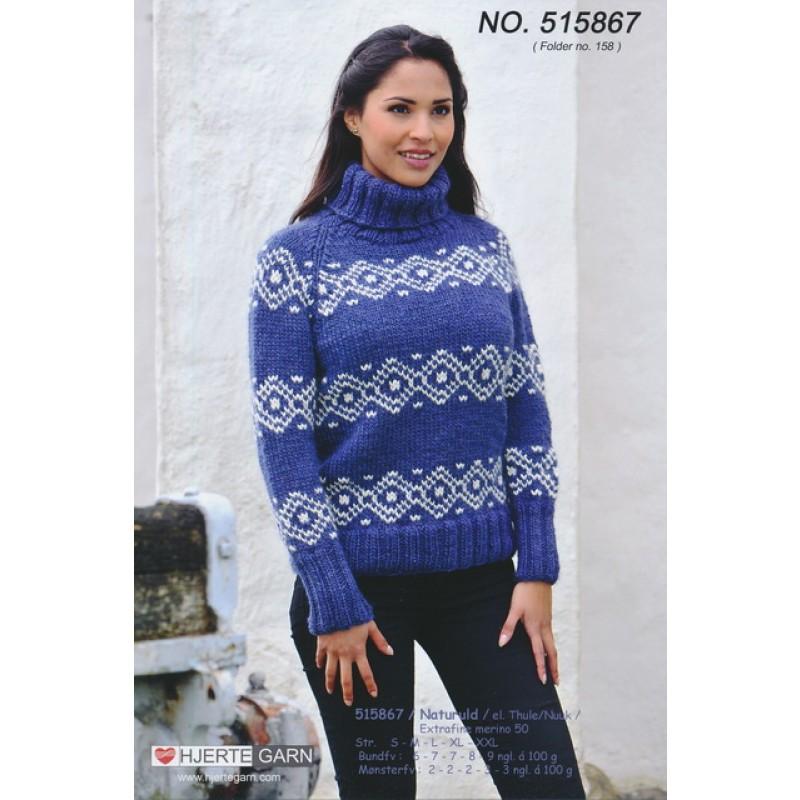 515867 Sweater m/nordisk mønster-35