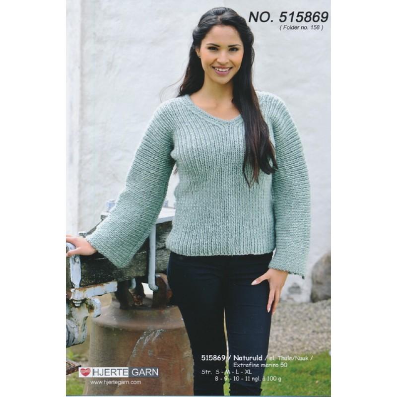 515869 Ribsweater