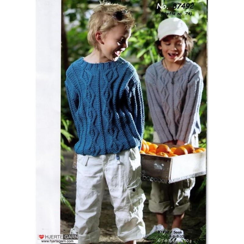 87492 Sweater med snoninger-30