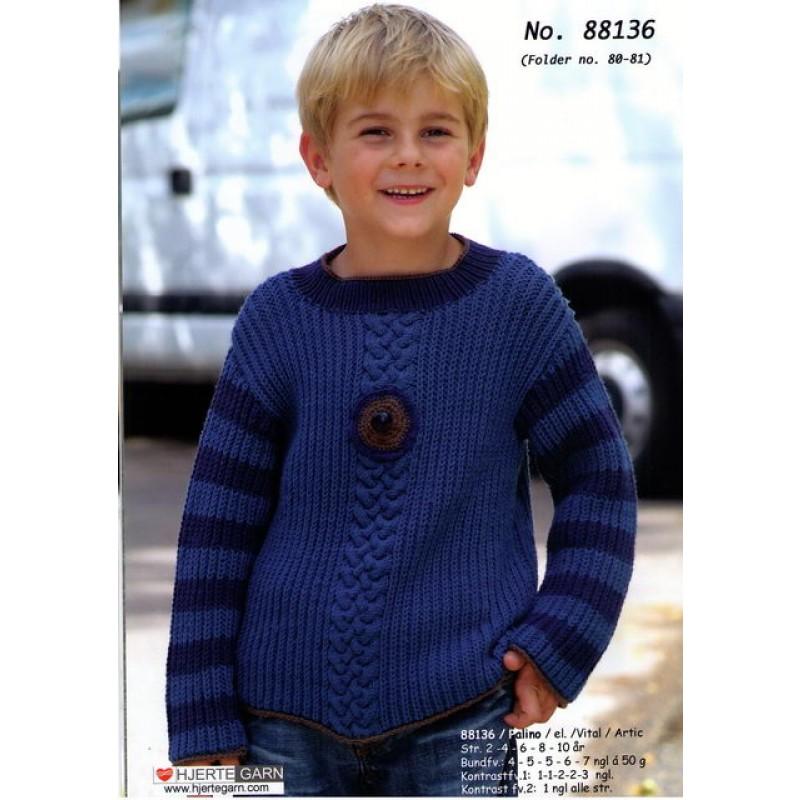 88136 Patentsweater m/snoninger-00