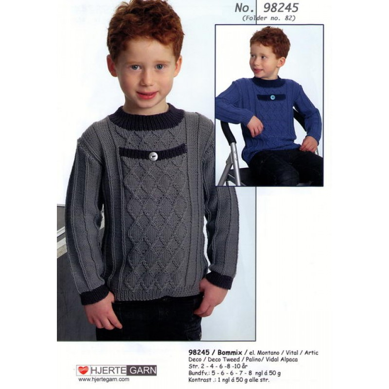 98245 Sweater m/lomme-00