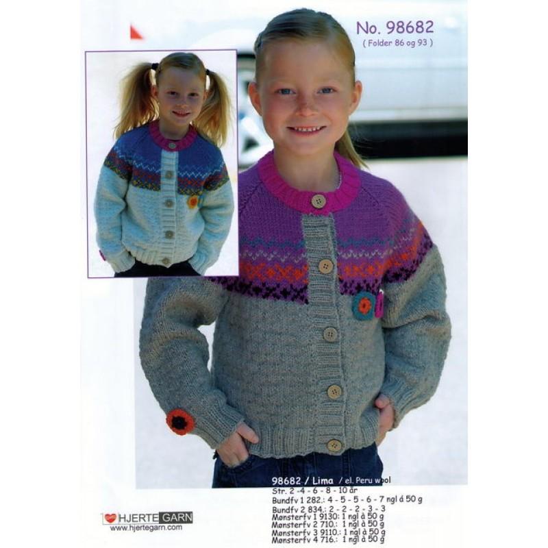 98682 Pige-trøje m/mønster-00