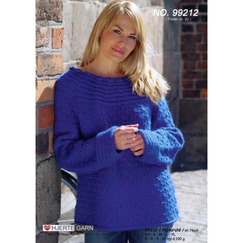 99212 Sweater m/rundt bærestykke-00