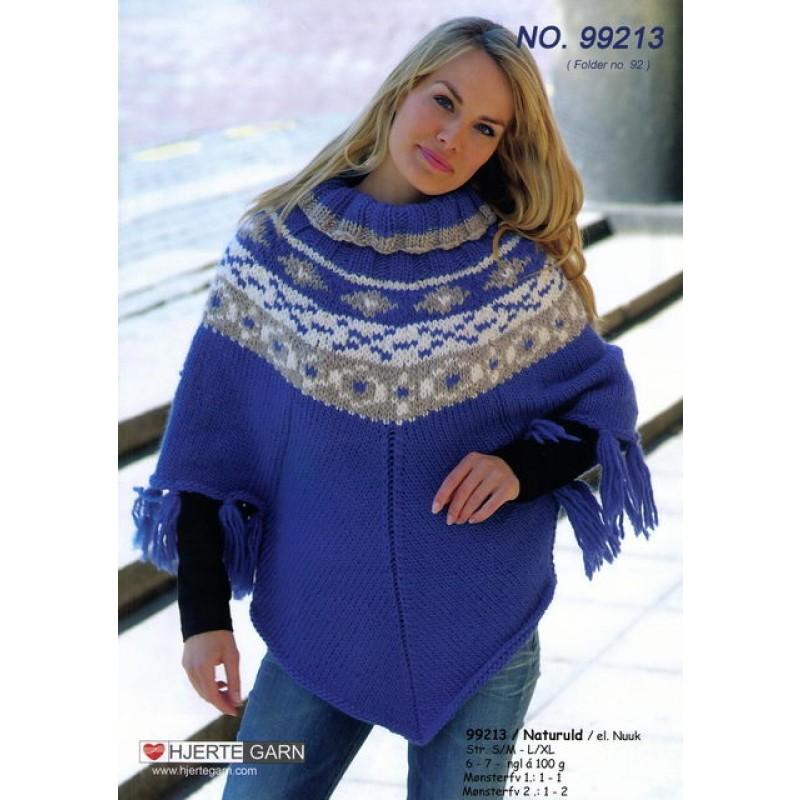 99213 Sweaterponcho