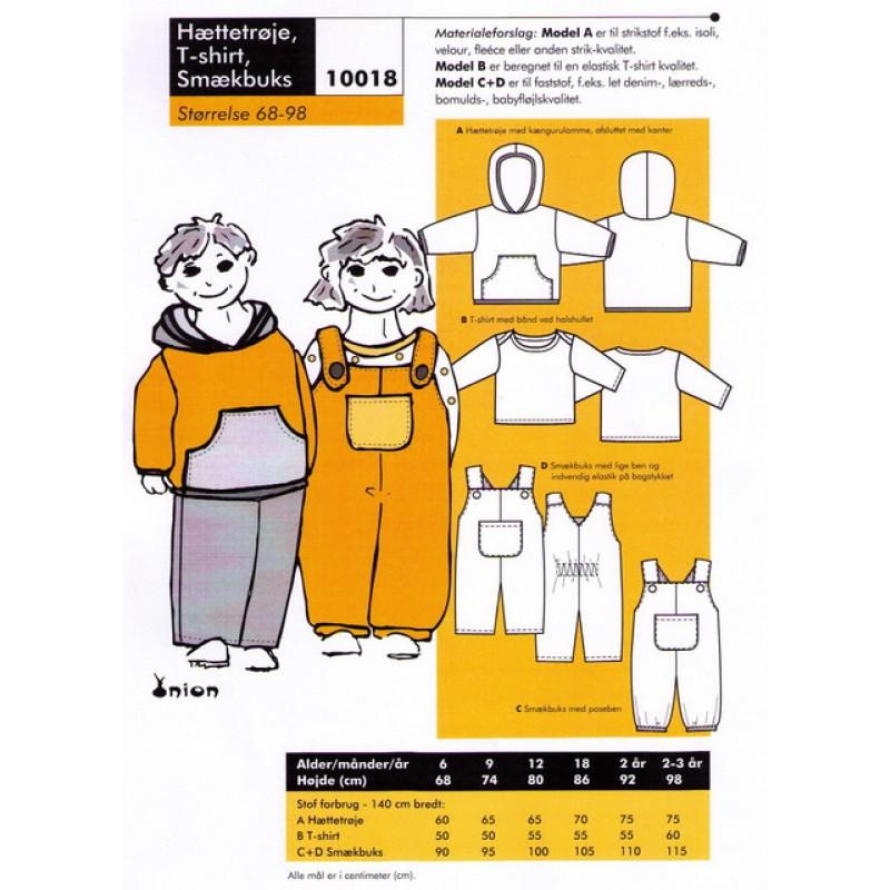 Onion 10018-Hættetrøje, t-shirt, smækbukser-31