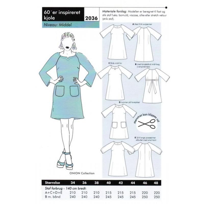 Onion 2036-60er inspireret kjole-31