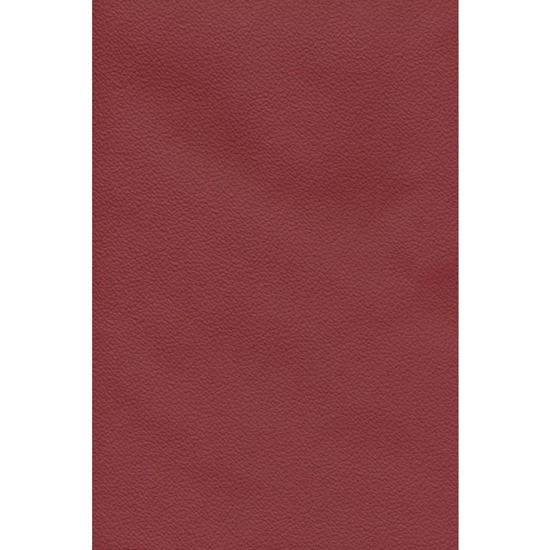 Afklip læder mørk rød, 50 x 115 cm
