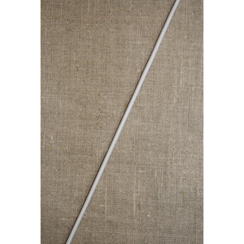 Elastik-anoraksnor i hvid 2 mm.-33