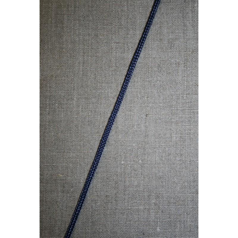Rest Anoraksnor polyester mørkeblå, 85 cm.-35