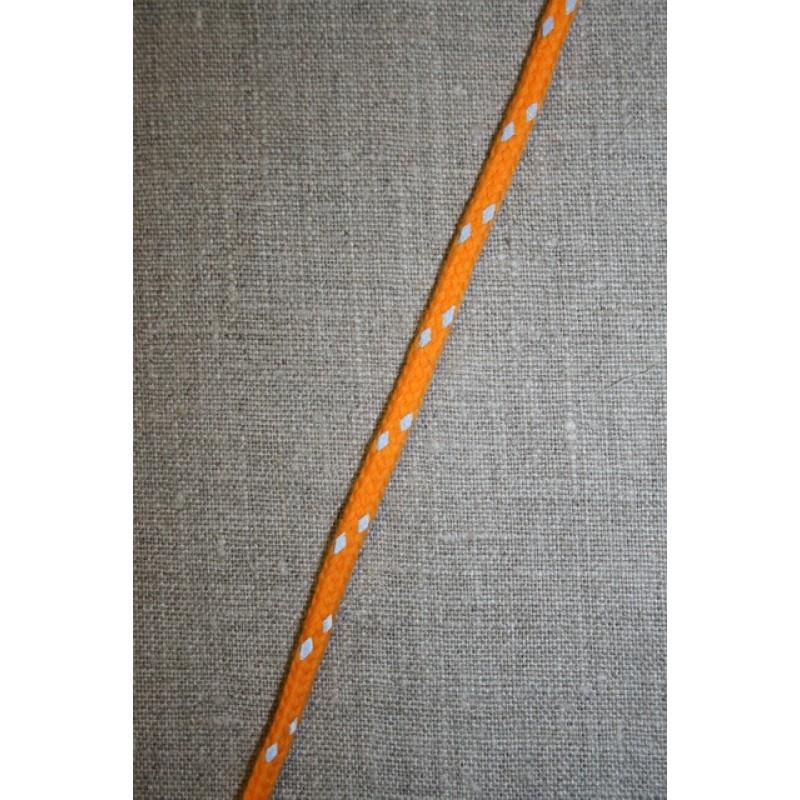 Anoraksnor 4 mm. orange m/reflex-35