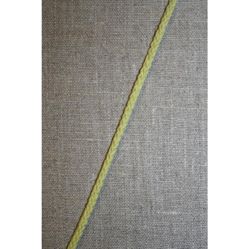 Anoraksnor 4 mm. lys lime