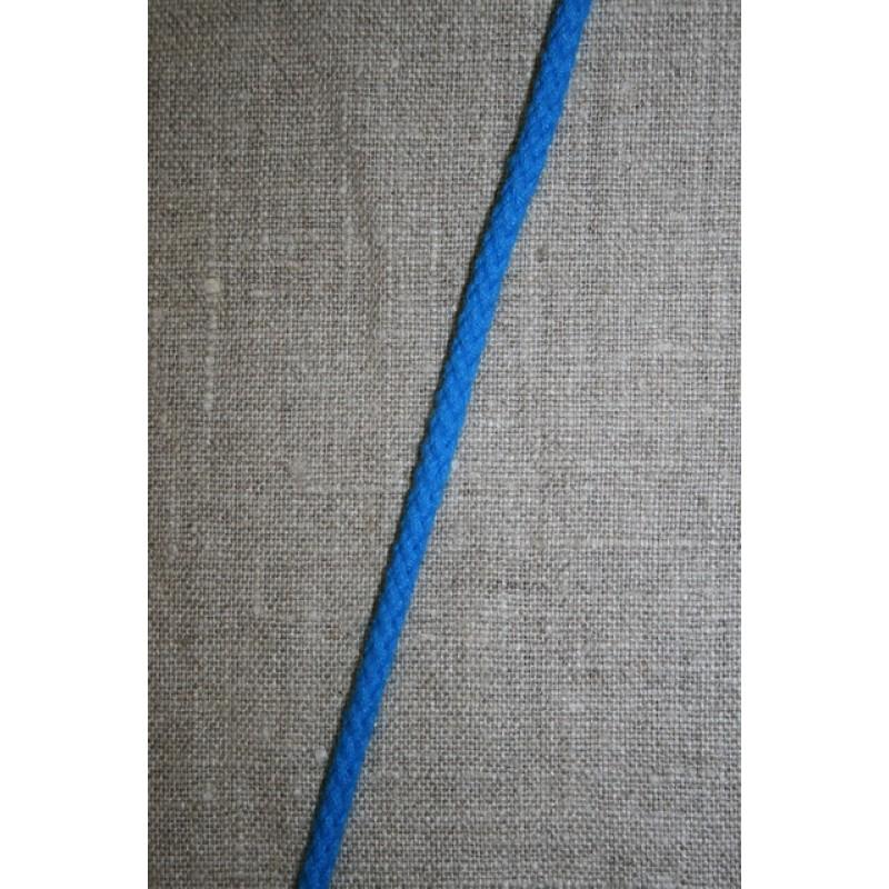 Anoraksnor bomuld/polyester 3,5 mm. turkis-blå