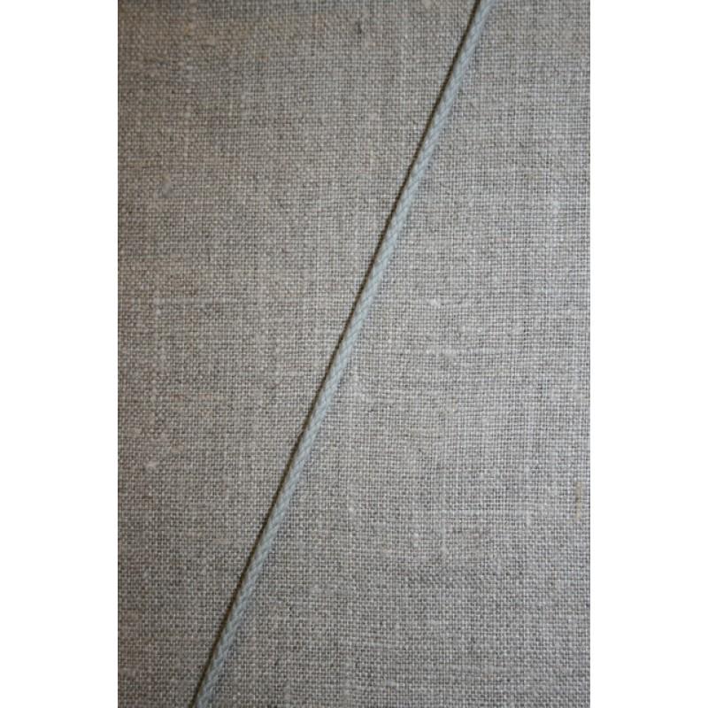 Anoraksnor bomuld 3,5 mm. lysegrå-33