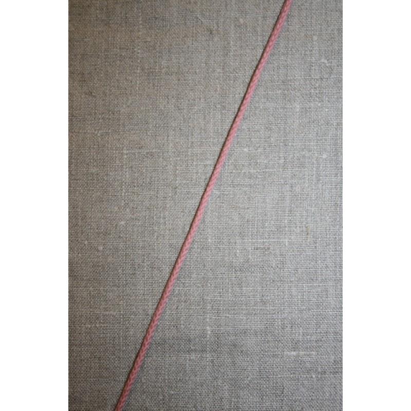 Anoraksnor bomuld 3,5 mm. gl.rosa-33