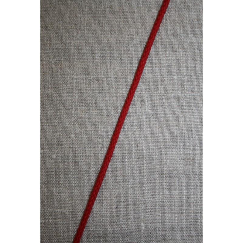 Anoraksnor bomuld 3,5 mm. rød-33