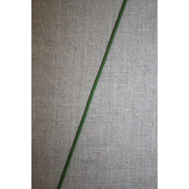 Anoraksnor bomuld 3,5 mm. grøn