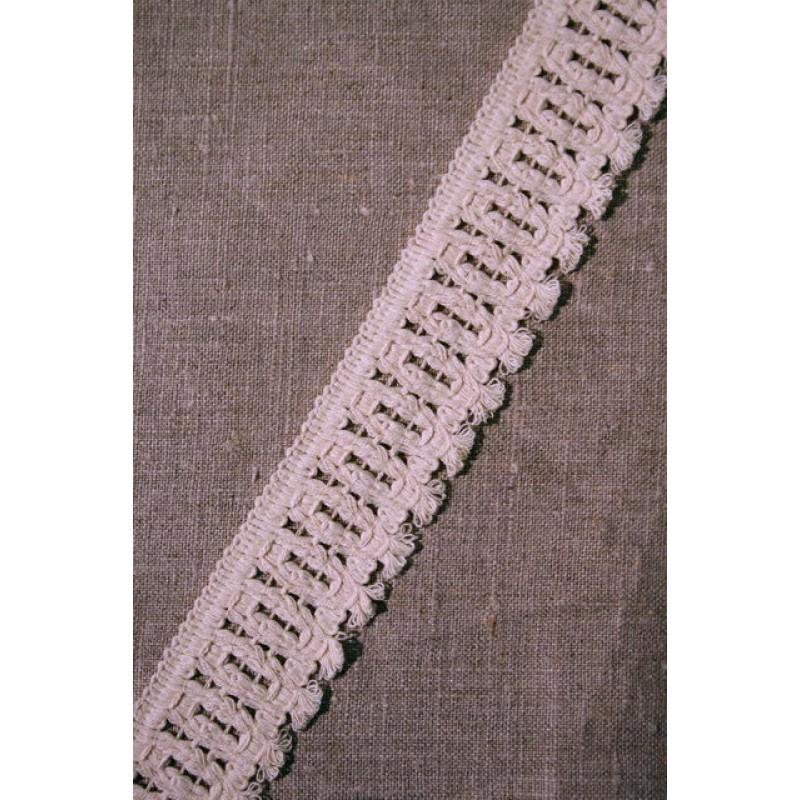 Off-white bomuldsbånd