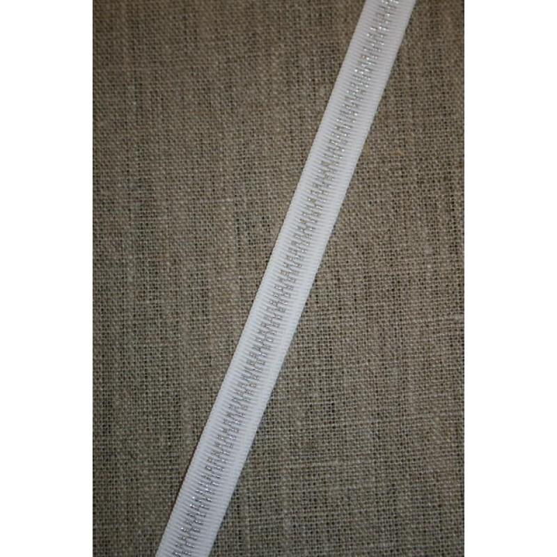 Hvidt bånd med lynlås-look-31