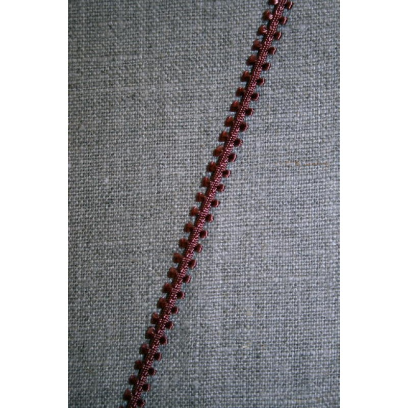 Agraman 6 mm. smal brunrosa-31