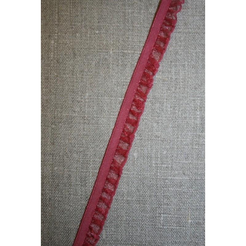 Flæseelastik mørk rosa-31