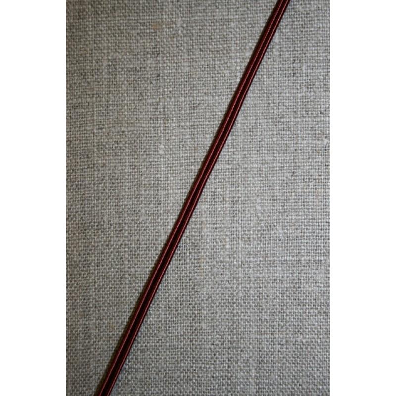 Lidse-bånd, rød-brun-31