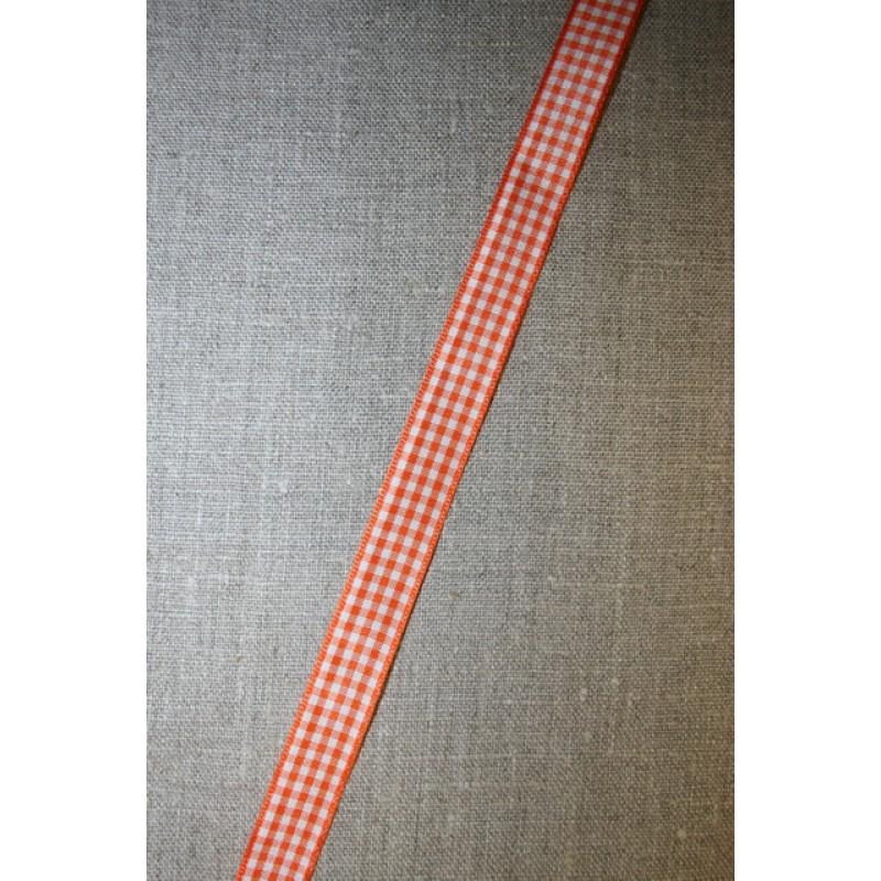 Ternet bånd hvid-orange-35