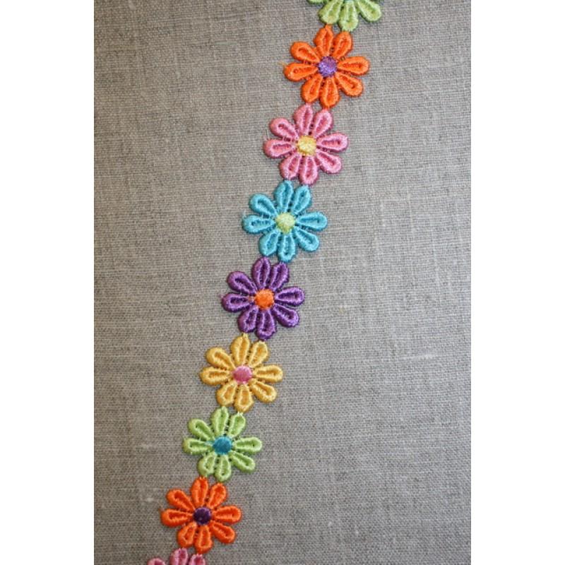 """Blomsterbånd """"flower power""""-35"""