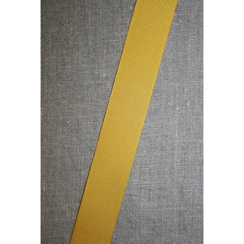 Grosgrainbånd 25 mm. gul-33