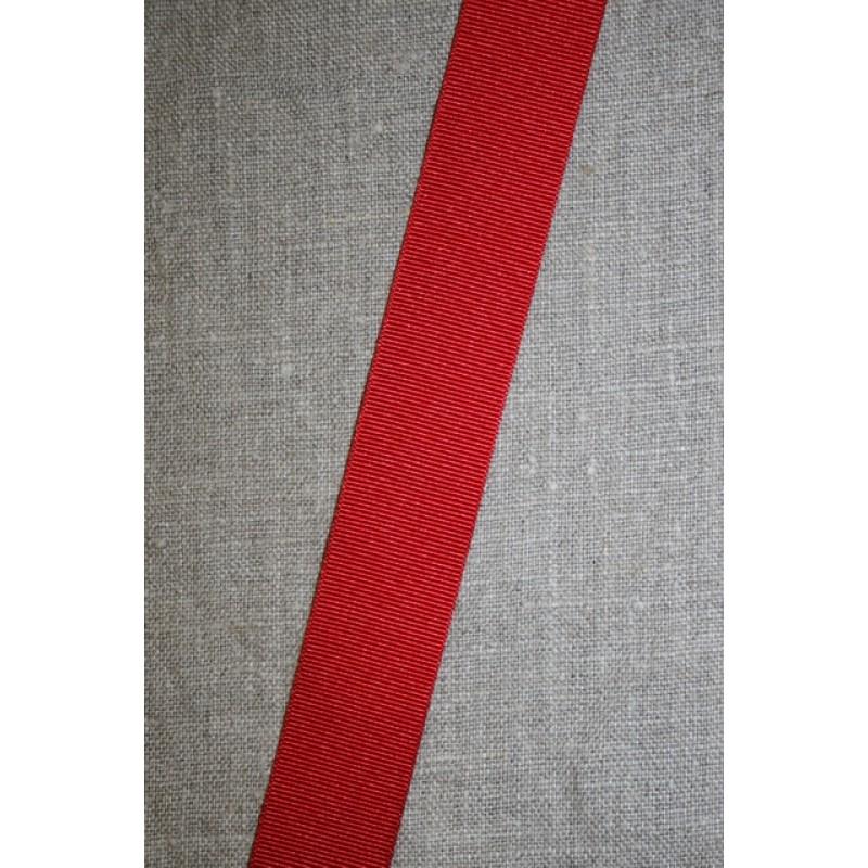 Grosgrainbånd 25 mm. rød
