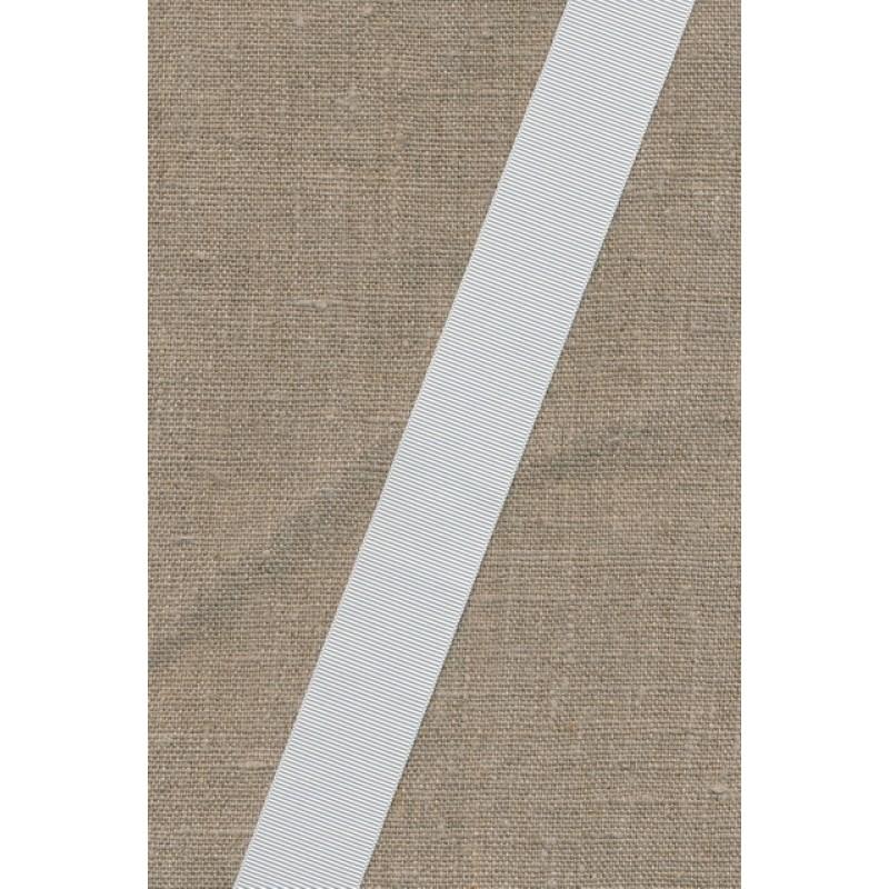 Grosgrainbånd 25 mm. hvid-33