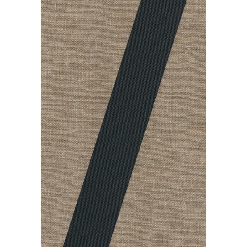 Rest Grosgrainbånd 40 mm. sort, 45 cm.-33