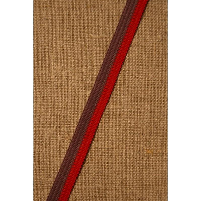 2-farvet bånd lilla-rød-31
